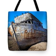 Beached Point Reyes Tote Bag