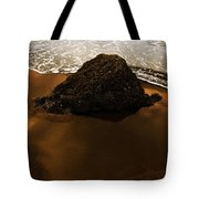 Beaches Of Gold Tote Bag