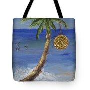 Beachy Christmas Tote Bag