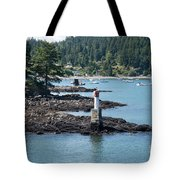 Beacon At Snug Cove Tote Bag
