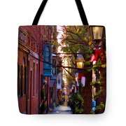 Beacon Hill Streets Tote Bag by Joann Vitali