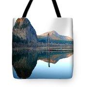 Beacon Rock Reflecions Tote Bag