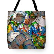 Bead Tossing Tote Bag