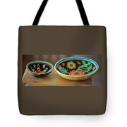 Beaded Indian Baskets Tote Bag