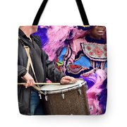 Beads And Feathers At Mardi Gras Tote Bag