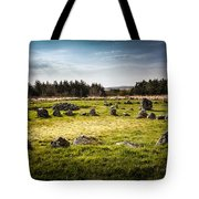 Beaghmore Stone Circles Tote Bag