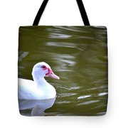 Beak And Feather Reflections Of The Muscovy  Tote Bag