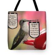 Beak Banners Tote Bag