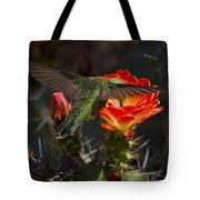 Beak Deep In Nectar  Tote Bag