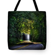 Beam Me Up Great Smoky Mountains Tennessee Mountains Art Tote Bag