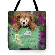 Bear And His Girl Tote Bag