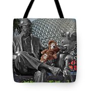 Bear And His Mentors Walt Disney World 04 Tote Bag