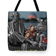 Bear And His Mentors Walt Disney World 05 Tote Bag