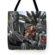 Bear And His Mentors Walt Disney World 06 Tote Bag