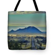 Bear Butte Surreal Tote Bag
