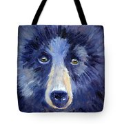 Bear Face Tote Bag