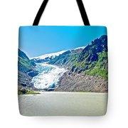 Bear Glacier Near Stewart-british Columbia  Tote Bag