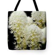 Bear Grass Flowers Glacier National Park Tote Bag