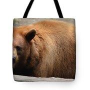 Bear In The Bath Tote Bag
