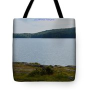 Bear Mountain Tote Bag