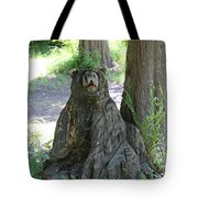 Bear In A Tree Tote Bag