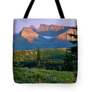 Bear Valley Glacier National Park Tote Bag