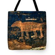 Bear Wall Tote Bag
