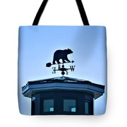 Bear Weathervane Tote Bag