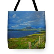 Beara Peninsula West Kerry - On The Road To Lauragh Again Tote Bag