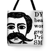 Beard Elixir Ad, 1889 Tote Bag