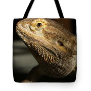 Bearded Dragon Profile Tote Bag
