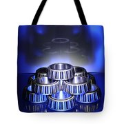 Bearings In Blue Tote Bag