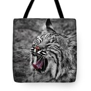 Bearizona Bobcat Tote Bag by Priscilla Burgers