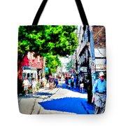 Bearskin Neck Rockport Ma Tote Bag