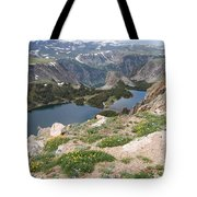 Beartooth Wildflowers Tote Bag