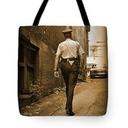 Beat Cop Tote Bag by John Malone