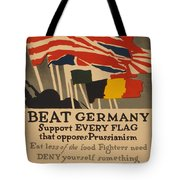 Beat Germany Tote Bag by Adolph Treidler