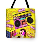 Beat It Tote Bag by Mo T