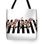 Beatles Dogs Tote Bag by Mark Ashkenazi