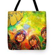 Beatles Rubber Soul Tote Bag