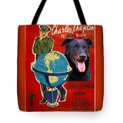 Beauceron Art Canvas Print - The Great Dictator Movie Poster Tote Bag