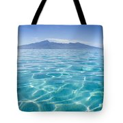 Beauitful Seascape Of Moorea Tote Bag
