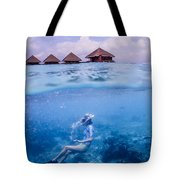 Beautiful Above And Below 2 Tote Bag