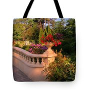 Beautiful Balustrade Fence In Halifax Public Gardens Tote Bag