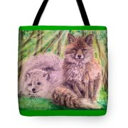 Beautiful Because Fox Alive Tote Bag