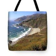 Beautiful Big Sur Coastline Tote Bag