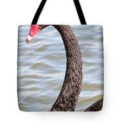 Beautiful Black Swan Tote Bag