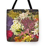 Beautiful Blooms Tote Bag