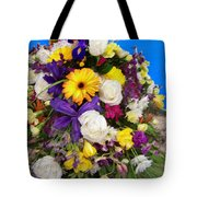 Beautiful Bouquet Of Flowers Tote Bag