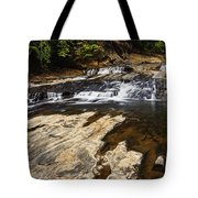 Beautiful Cascade In Western Ghats Karnataka India Tote Bag